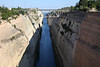 Corinth9813<br /> The Corinth Canal in Greece, connects the Gulf of Corinth with the Saronic Gulf in the Aegean Sea.
