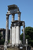 Rome9582<br /> Remains of the Temple of Castor and Pollux, mythical twins