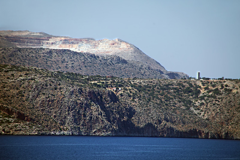 IMG_0559 <br /> Headed to final port, Chanina, Crete, Greece, we pass some interesting Islands.