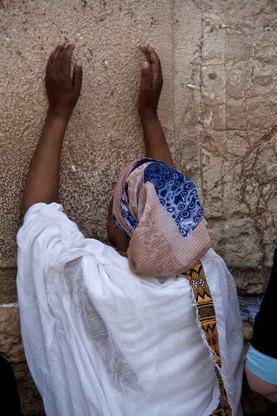 Jerusalem8782<br /> A woman prays.....