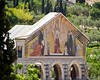 Church of the Dominus Flevit, or.. The Church of the Nations, on the slopes of the Mount of Olives facing the Temple Mount and adjacent to the Garden of Gethsemene where Jesus wept over the approaching destruction of Jerusalem.