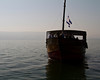 One of the Pilgrim's Boats on the Sea of Galilee.