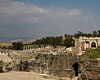 This and the next 8 images are of the ruins at Beth Shean, a