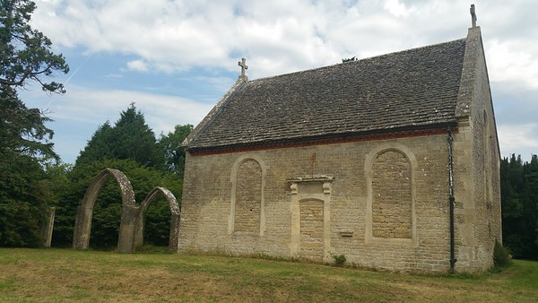 The rest of the original church was incorporated around those arches..the only parts now remain below ground.