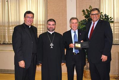 Holy Trinity Honors Aram Hintlian as Parishioner of the Year, Oct 22, 2017