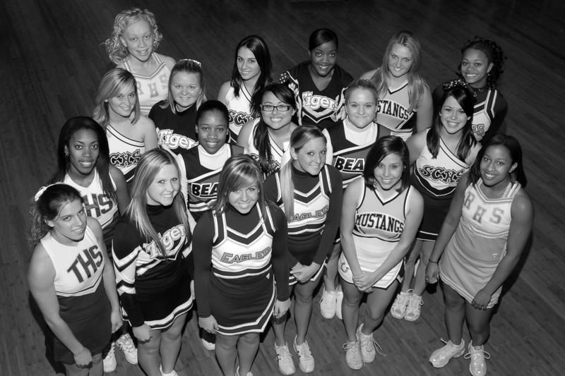 2007 North All-Star Varsity Cheerleaders