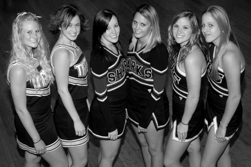 2007 South All-Star Varsity Cheerleaders