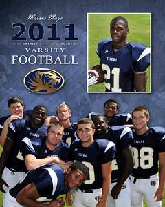 2011 Football Team Portraits
