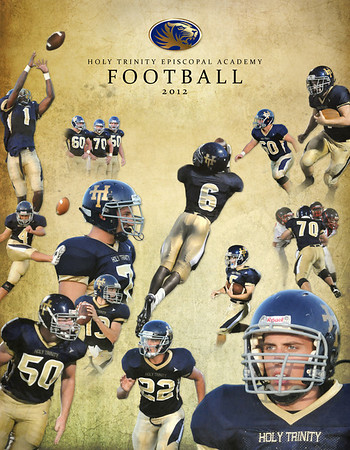 2012 Football Program Cover