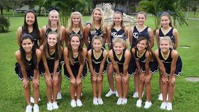 2012 Football and Cheer Team Photos