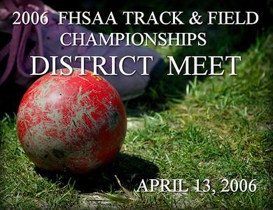 2006 FHSAA Championships District Meet