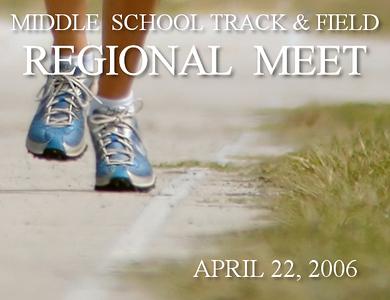 Middle School Track & Field Regional Meet