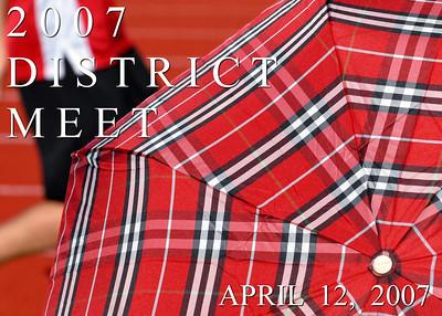 2007 District Meet