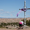The pilgrimage to the Santuario de Chimayo on Friday, March 25, 2016. Luis Sánchez Saturno/The New Mexican