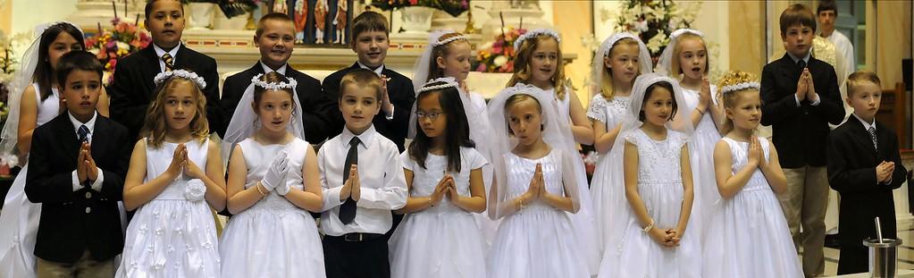 1st Communion - 10am Mass