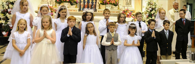 1st Communion - 11 30 Mass