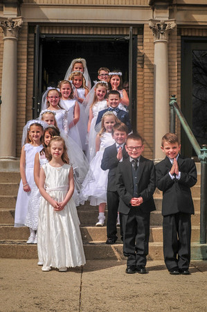 2018-04-28 First Communion Mass - Group A