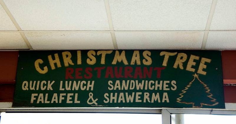 Lunch in Bethlehem.