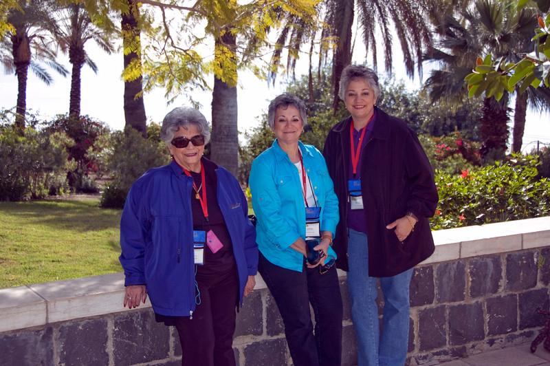 Eva, Stephanie and Theresa Serrano