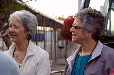 Mary Ann and Stephanie.