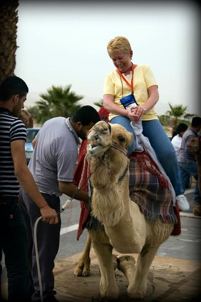 We enjoyed our camel rides.