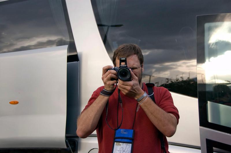 A fellow photographer---so exciting!! (Allen Davis)