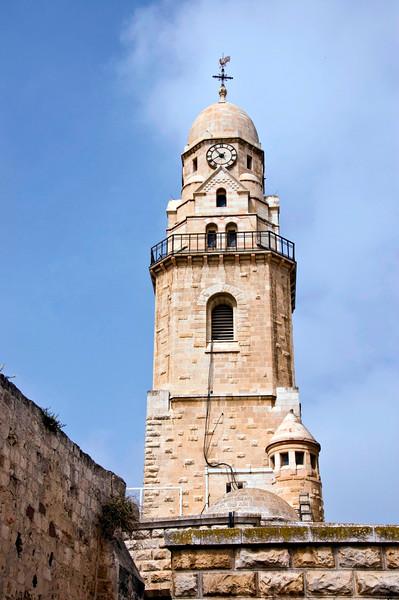 Belltower of Dormition Abbey.
