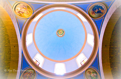 December The dome in the Church of Cana