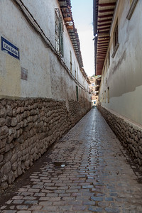 Smalle straatjes van Cuzco