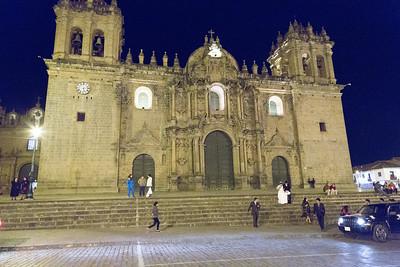 Cuzco : Plaza de Armas : de kathedraal