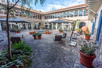We verblijven in het Libertador Hotel Palacio Del Inca, gelegen in het historische centrum van Cuzco.