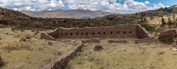 Tipon : pré-Inca site.