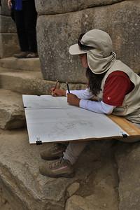 Aziatische ploeg meet Machu Picchu volledig op. Maken ze een kopij?