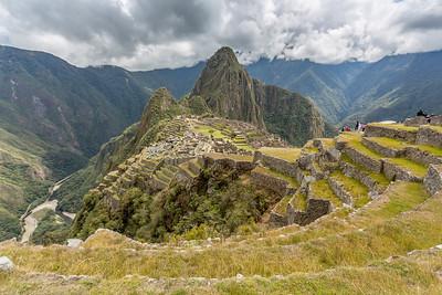 Macchu Picchu in volle glorie.