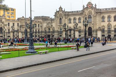 LIMA: presidentieel paleis