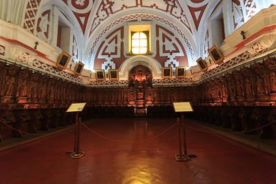 LIMA : het koor van de basiliek