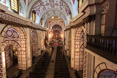 LIMA: basiliek van het klooster