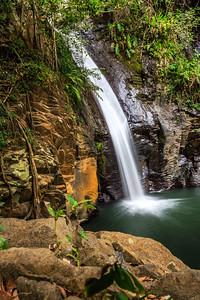 Een omwegje maken om de deze mooie waterval te bekijken.