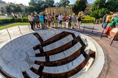 """Jantar Mantar wat zoveel betekent als """"reken instrument"""""""