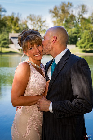 September 21, 2016 Chad and Julie wedding at Mill Race Park in Columbus, Indiana.