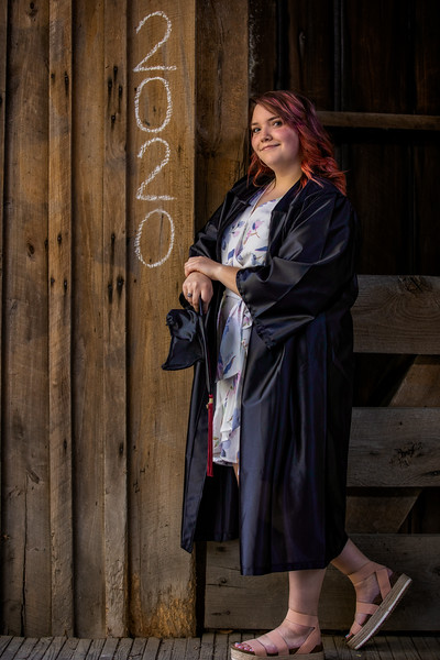 Merrick senior portrait session on May 1st, 2020.  Photo by Vasquez Photography.