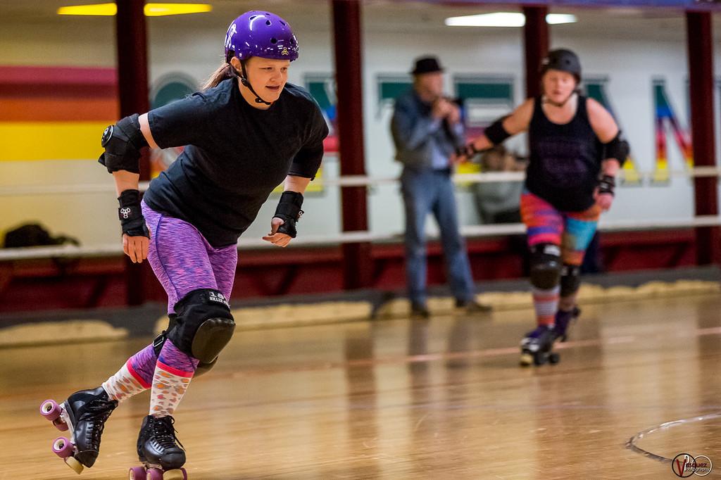 March 14, 2018 Terrorz Roller Derby. Photo by Tony Vasquez