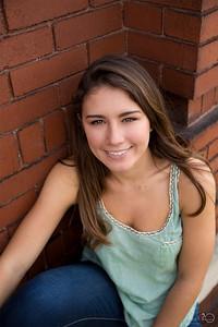 Cami senior portrait session shot by Vasquez Photography