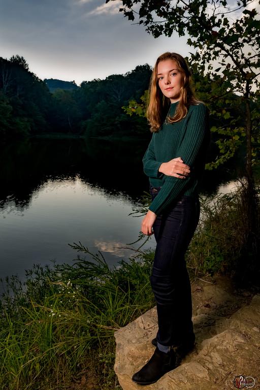 AbbeyLandini portrait session shot by Vasquez Photography