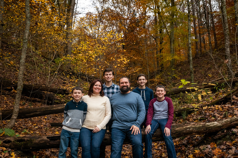 Foreman family session in Brown County State Park. Photo by Tony Vasquez