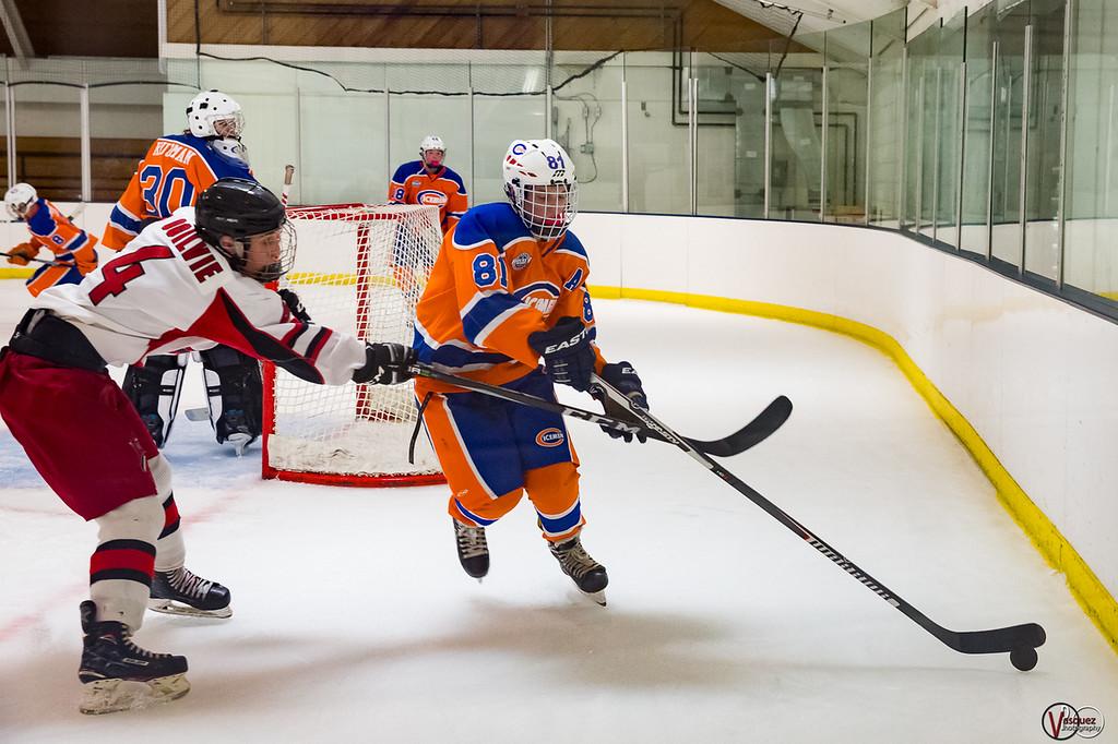 February 17, 2018 Cole Grady Columbus Icemen  match in Columbus, IN. Photo by Tony Vasquez