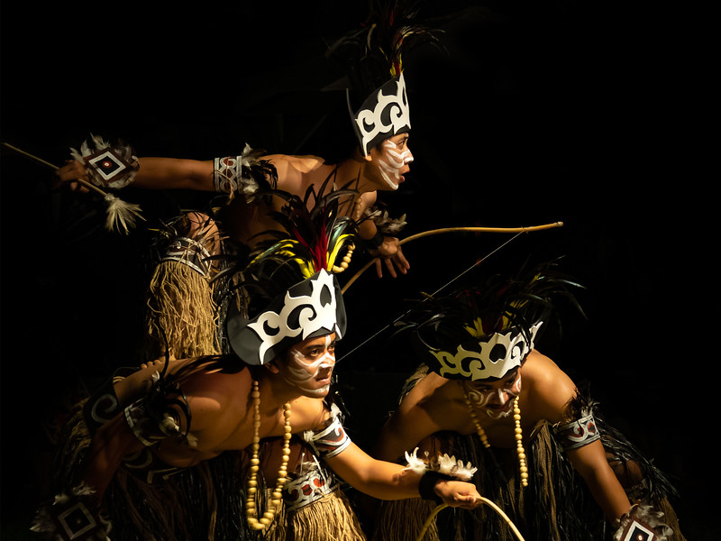 Traditionnal dancers in Bali Indonesia