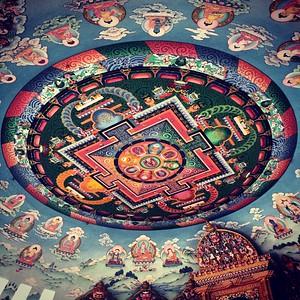 Buddha's Birthplace Mandala