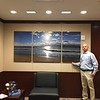 Serenity 40x86 gallery triptych aluminum