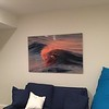 "40x60 Aluminum of ""Chasing Light"" taken in Newport Beach, Ca."